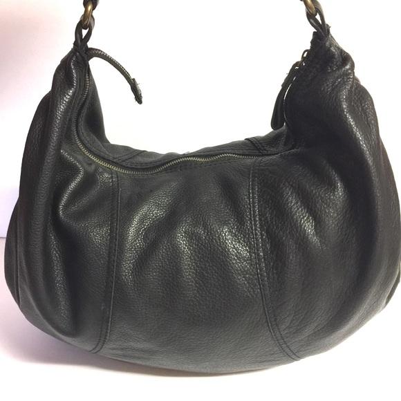 Lucky Brand Handbags - 🍀 Lucky Brand Large Slouch Boho Leather Peace Bag df0fd62c1f